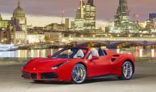 Ferrari si-a lansat la Londra noul Spider 488