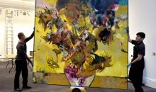 """Tabloul lui Adrian Ghenie, """"The Sunflowers in 1937"""" a fost vandut cu 4 milioane de euro"""