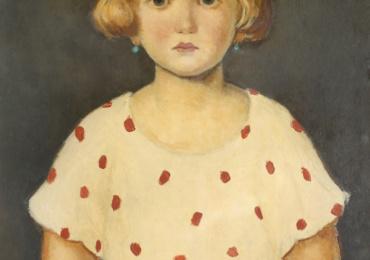 Nicolae Tonitza, Fetita cu fundita roz