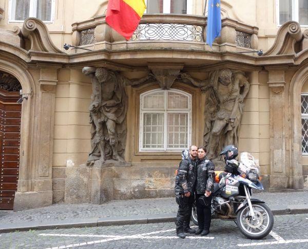 Calatorie romanească record in jurul lumii - World Ride 2016