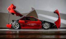 Ferrari F40 din 1989 poate fi admirat in galeria Tiriac Collection
