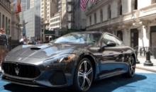 Maserati GranTurismo la Bursa de Valori din New York