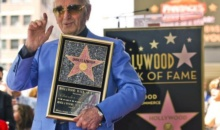 Charles Aznavour a primit o stea pe Walk of Fame din Hollywood