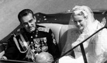 Stephanie de Monaco vine la Bucuresti pentru inaugurarea unei statui ce il reprezinta pe Rainier III
