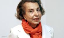 A murit Liliane Bettencourt, proprietara grupului L'Oréal si cea mai bogata femeie din lume