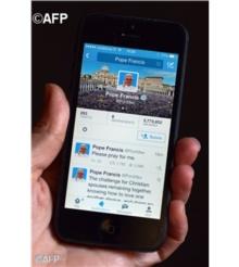 Papa Francisc are 40 de milioane de abonati pe Twitter