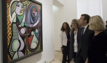 Tablou de Picasso la palatul Elysee