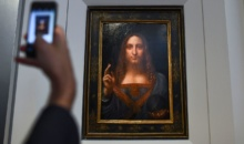 Salvator Mundi, de Leonardo da Vinci, estimat la 100 de milioane dolari