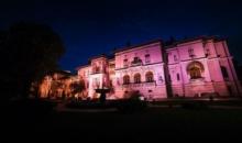 Palatul Cotroceni, iluminat in roz, de Ziua luptei impotriva cancerului de san