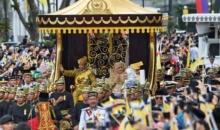 Sultanul din Brunei, la 50 de ani de domnie
