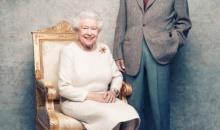 Elisabeta a II-a si printul Philip la cea de-a 70-a aniversare a casatoriei