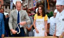 Licitatie in scopuri caritabile pentru covrigi impletiti de William si Kate