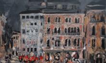 Expozitie de pictura de Sorin Scurtulescu in Noua Galerie a IRCCU Venetia