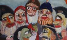 Expozitie de arta naiva a artistului Ioan Maric