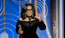 Oprah Winfrey, prima femeie de culoare care primeste Globul de Aur pentru intreaga cariera