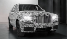 Rolls-Royce isi dezvaluie primul SUV in evenimente private