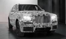 Rolls-Royce isi dezvaluie primul SUV in evenimente private