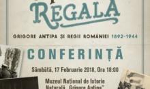 """O Prietenie Regala: Grigore Antipa si Regii Romaniei 1892-1944″"