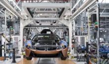 Uzina BMW Group din Leipzig a inceput productia de serie a BMW i8 Roadster