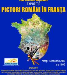 "De Ziua Culturii Nationale, artisti de renume reuniti in expozitia ""Pictori romani in Franta"""