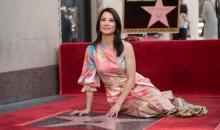 Actrita Lucy Liu a primit o stea pe Hollywood Walk of Fame