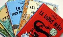 Benzi desenate Tintin pentru 1,1 milioane de dolari